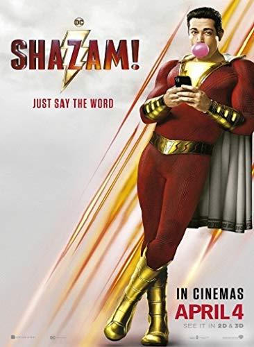 映画ポスター シャザム Shazam DC US版 hi2 [並行輸入品]