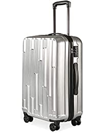 DEVAISE スーツケース キャリーバッグ キャリーケース 8輪キャスター TSAローク 軽量 耐衝撃 ファスナータイプ PP0124/0125/0126