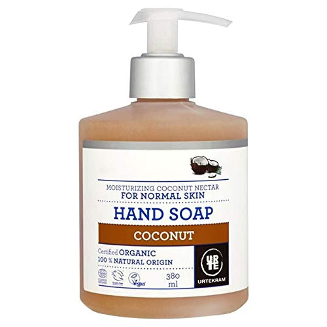木ダンプシルエット[Urtekram] Urtekramココナッツ液体ハンドソープ380ミリリットル - Urtekram Coconut Liquid Hand Soap 380ml [並行輸入品]