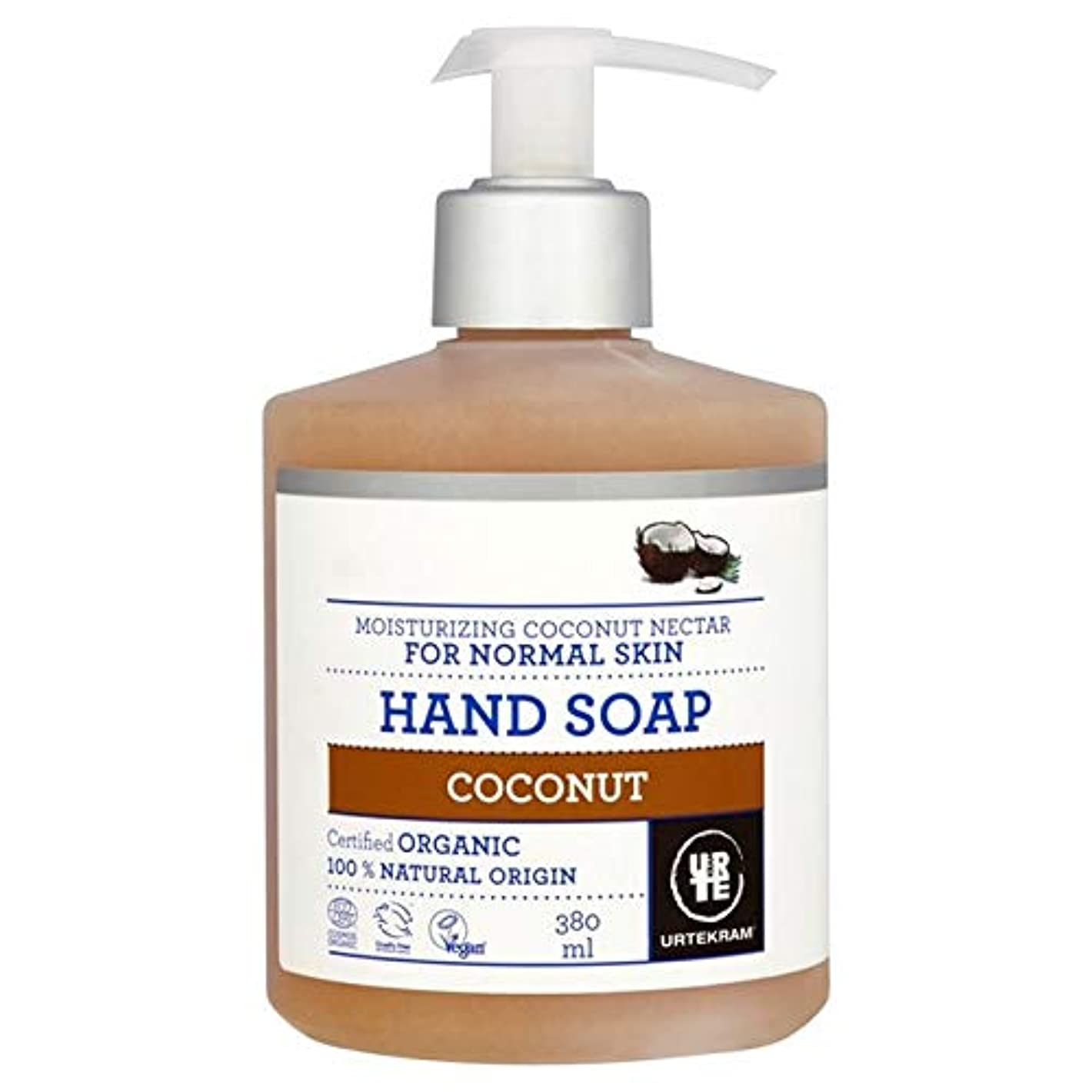 夜間特派員局[Urtekram] Urtekramココナッツ液体ハンドソープ380ミリリットル - Urtekram Coconut Liquid Hand Soap 380ml [並行輸入品]