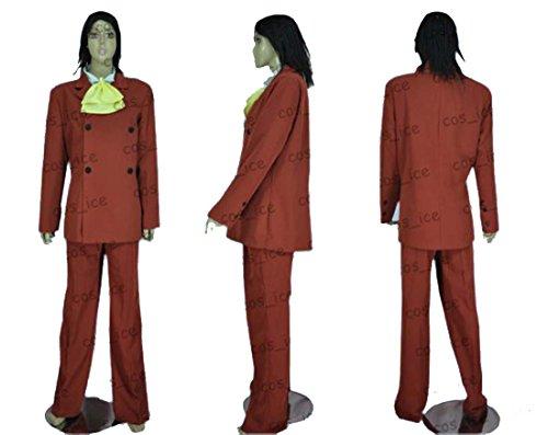 【ノーブランド品】1932天空の城ラピュタ ムスカコスプレ衣装(男性XL)