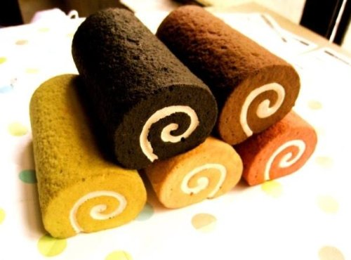 Treasure Mart 食べないで下さい ロールケーキのリストレスト キーボードクッション