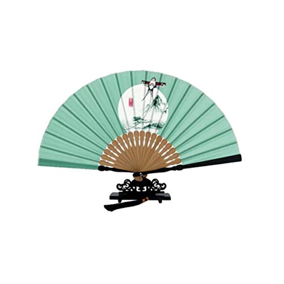 貢献するブルゴーニュ再生可能KATH 扇子、中国風の扇子