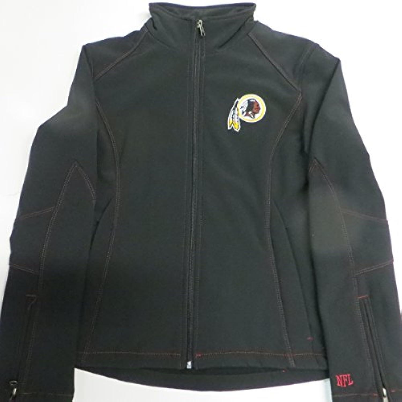 NFLワシントンレッドスキンズWomens Large Full Zip刺繍Thermabaseジャケットardk 13 L