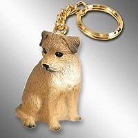 Border Terrier Tiny Ones犬のKeychains ( 21/ 2)