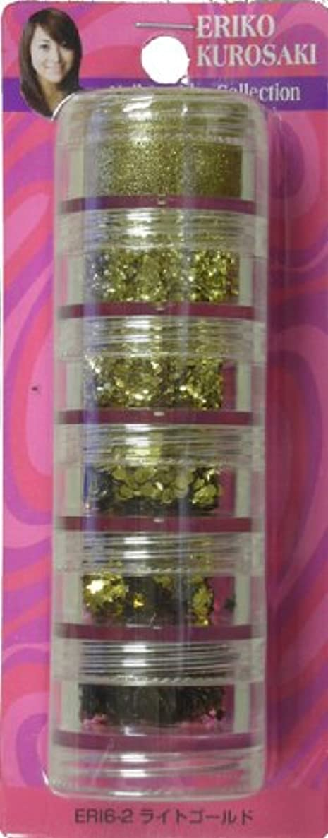 ラバパールじゃないビューティーネイラー エリコジュエリーコレクション 6段タワー ERI6-2 ライトゴールド