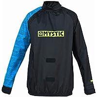 2018 Mystic Kiteウインドストッパージャケットブラック/ブルー140160