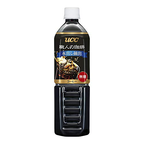 【Amazon.co.jp 限定】UCC 職人の珈琲 水出し抽出 無糖 コールドブリュー ペットボトル 900ml×12本