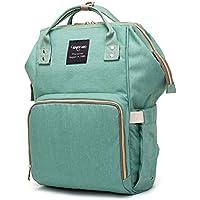 おむつバッグバックパックfor Baby Care、多機能ベビーNappy Changing Bag with Insulatedポケット、防水生地、大容量