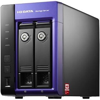 アイ・オー・データ機器 WD Red搭載 Windows Storage Server 2012 R2 Workgroup Edition 2ドライブNAS 2TB HDL-Z2WM2C2