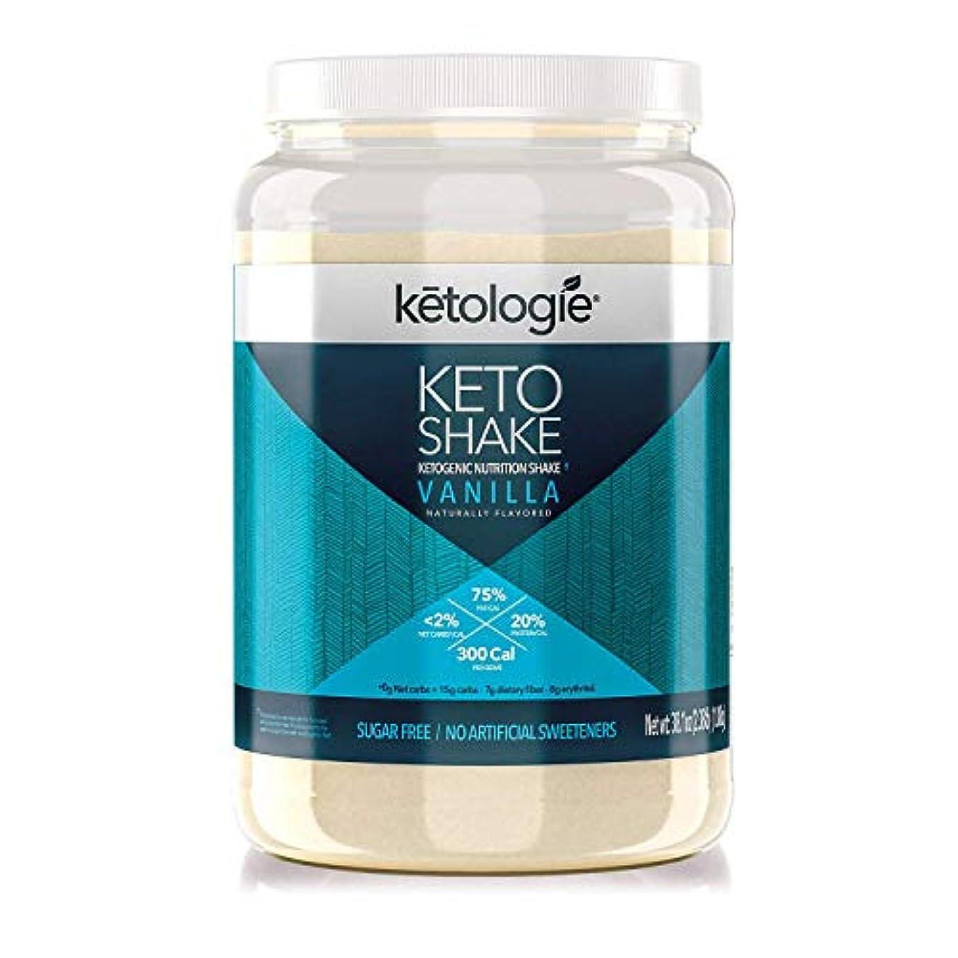 候補者流暢によって[Ketologie] [コラーゲンケトシェイク(バニラ)Collagen Keto Shake (Vanilla)]