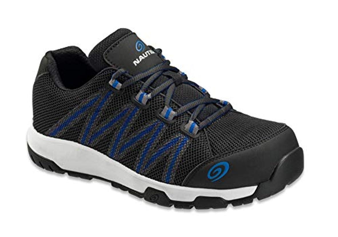 測る周術期外国人Nautilus Safety Footwear メンズ アクセラレータースニーカー US サイズ: 15 Wide カラー: ブラック
