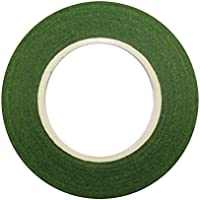 ポータブルで実用的 1ロールステムフラワーテープ花柄テープガーデニングテープガーデンツールDIYアクセサリー(グリーン)