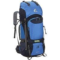 Bigood 60L Trekking Rucksacks Waterproof Mountaineering Camping Hiking Backpack
