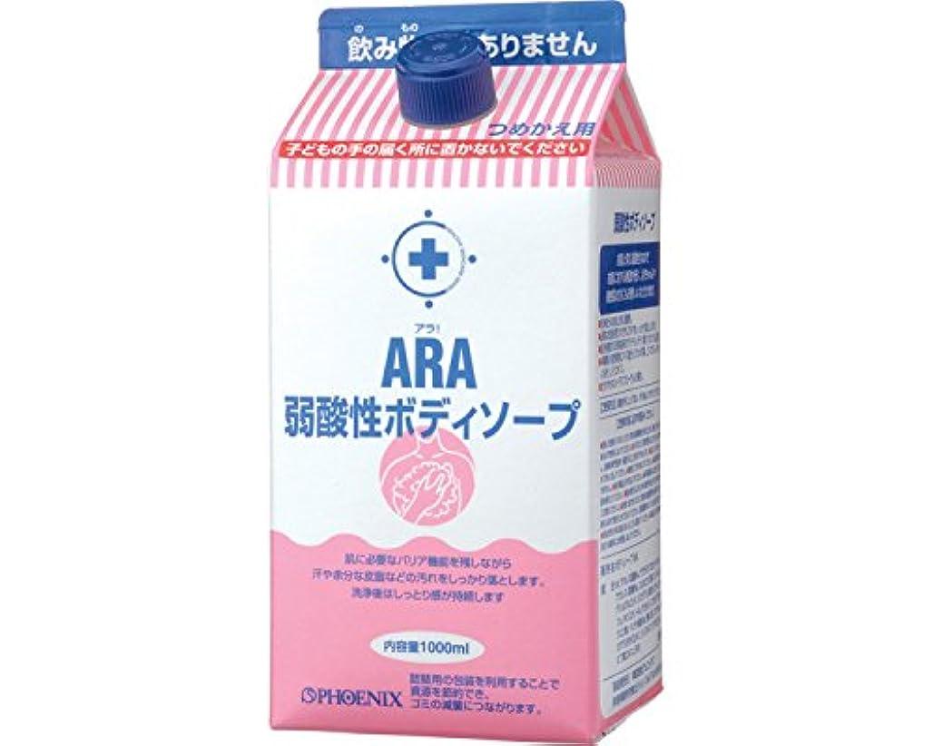 繊維登場密接にアラ 弱酸性ボディソープ 90525 (フェニックス) (清拭小物)