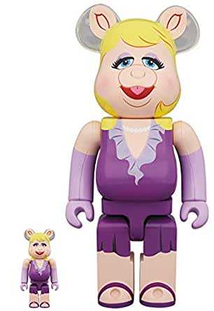 2019 BE@RBRICK Miss Piggy 100% & 400% MEDICOM TOY ベアブリック kaws カウズ The Muppets カーミット ザ・マペッツ ミス・ピギー