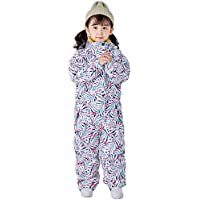 Snow Suit for Kids, One Piece New Boys and Girls Siamese Jumpsuit Ski Suit for Snow Sports