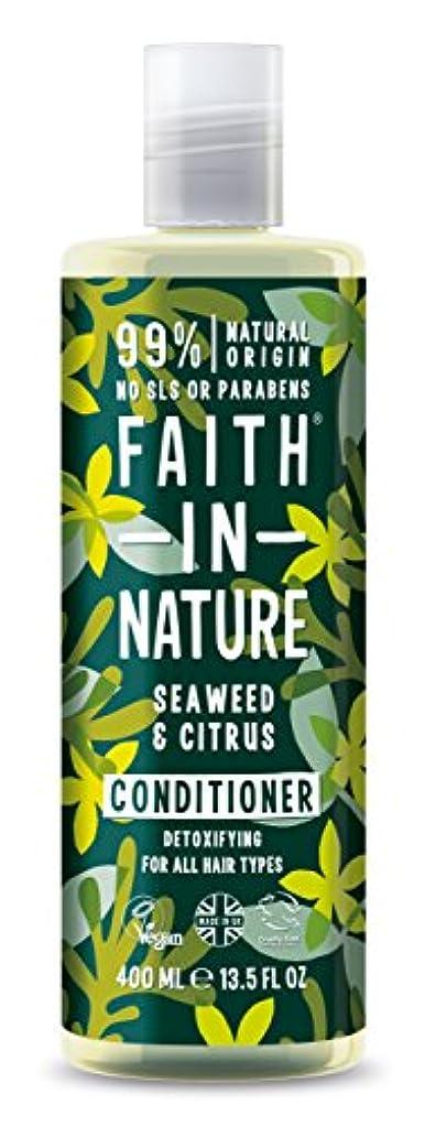 根絶する松楽観的Faith in Nature - Seaweed & Citrus Conditioner - 400ml
