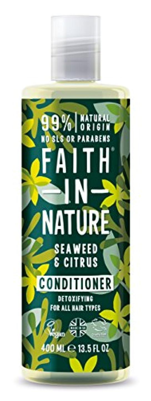 感染するオレンジおFaith in Nature - Seaweed & Citrus Conditioner - 400ml