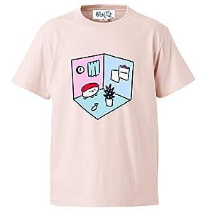 おしゅしだよ ルームTシャツ ピンク Sサイズ