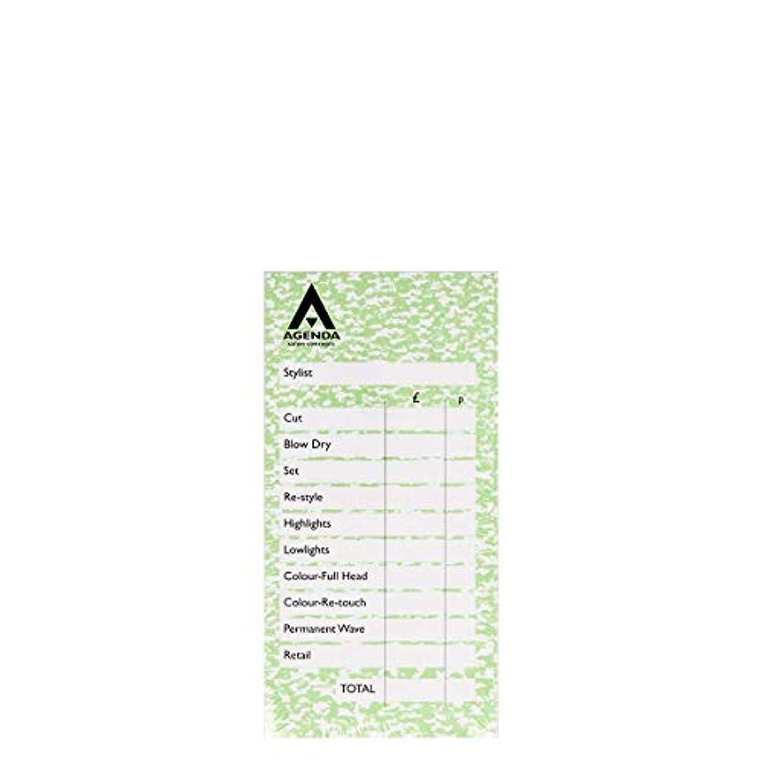 構造ピース区アジェンダ サロンコンセプト チェックパッドグリーン6x100リーフ[海外直送品] [並行輸入品]