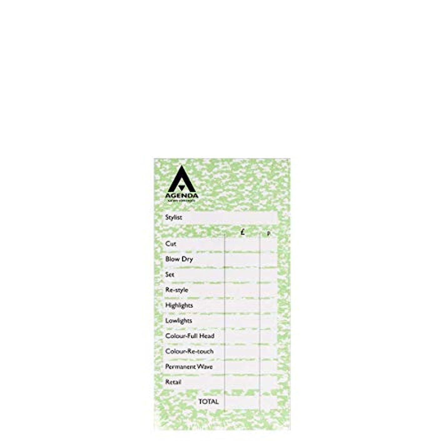 大学生アリスバナーアジェンダ サロンコンセプト チェックパッドグリーン6x100リーフ[海外直送品] [並行輸入品]