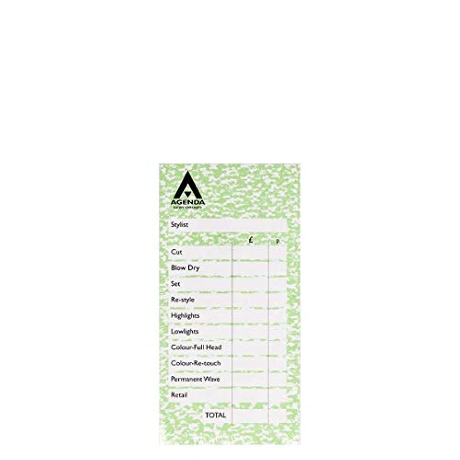チーム要求するローブアジェンダ サロンコンセプト チェックパッドグリーン6x100リーフ[海外直送品] [並行輸入品]