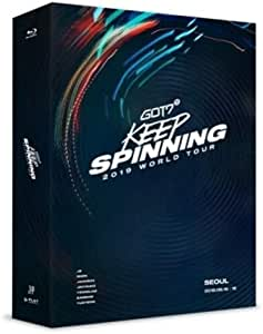 2019 World Tour: Keep Spinning in Seoul (3 x Blu-Ray, incl. 24pgPhotobook, Clear Photo Frame + 7 Photocards)