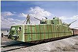 ホビーボス 1/35 ファイティングヴィークルシリーズ ソビエト軍 MBV-2 装甲列車 (F-34 戦車砲搭載型) プラモデル 85515
