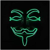 子供のためのハロウィーンのLEDマスク パージマスクパワーマスク怖い シャイニング レーブコスチューム