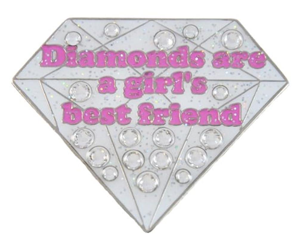 農学ハグ簡潔なNavika Diamondsは、ハットクリップ付きの女の子の親友スワロフスキークリスタルとグリッツボールマーカーです。