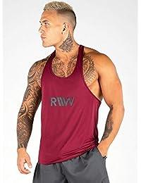 正規輸入品 ライダーウエア ryderwear タンクトップ メンズ ノースリーブ 筋トレ フィットネスウエア ジムウエア RY-M16070-607