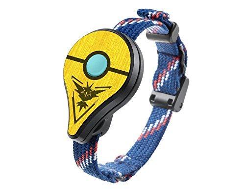 Not Machine Specific [씰 악세사리(Pokemon Go Plus용)] POKEWARES? Shield for Pokemon GO Plus | Instinct Yellow | Real Wood Cover Skin for Nintendo Accessory - PREORDER by PokeWares [병행수입품]-