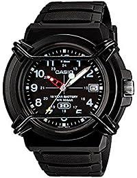 カシオ CASIO STANDARD スタンダード 逆輸入 10年電池 メンズ 腕時計 HDA-600B-1B ブラック ラバーベルト 逆輸入品 [並行輸入品]