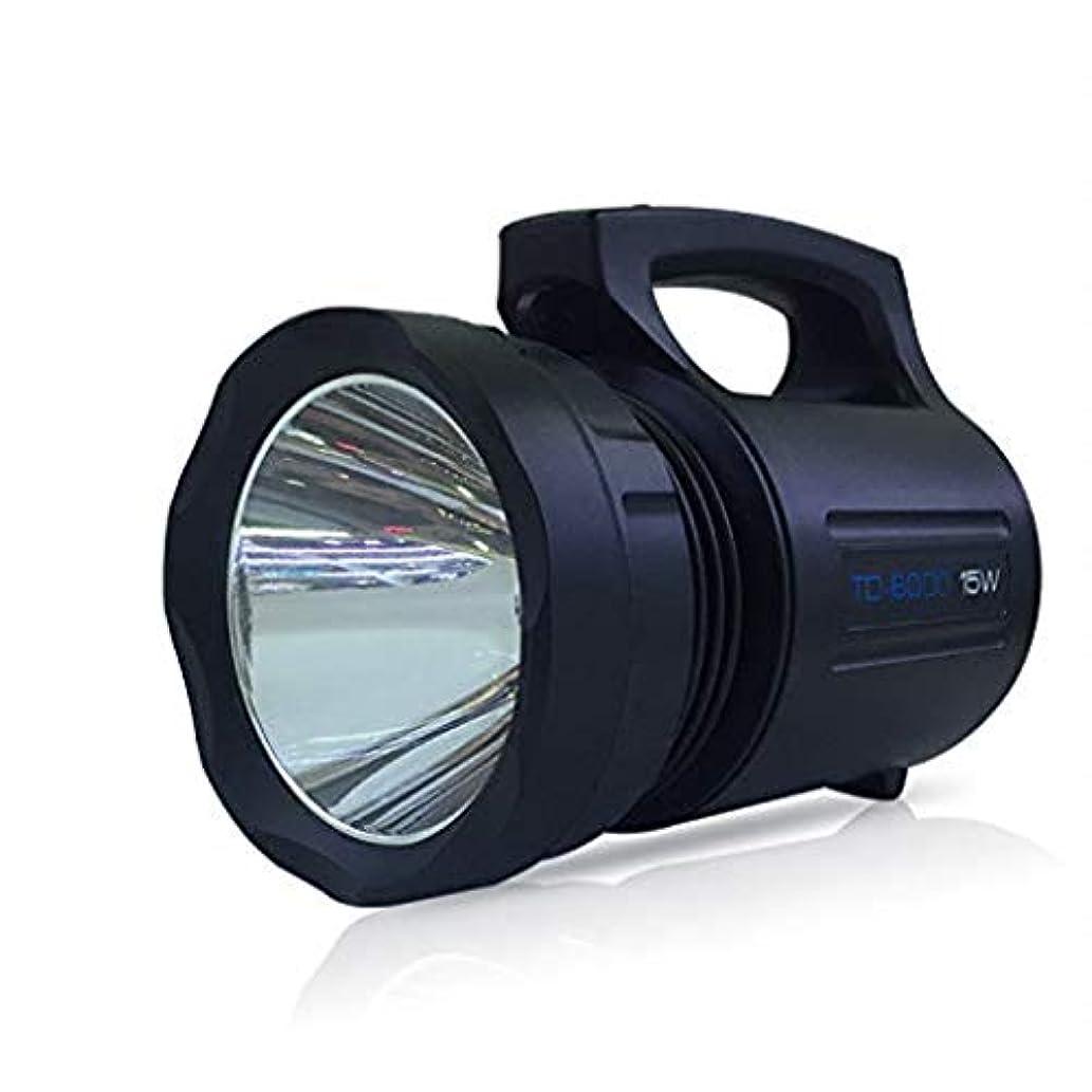電気トーチLED釣りライトグレア充電式サーチライトキャンプ釣り懐中電灯