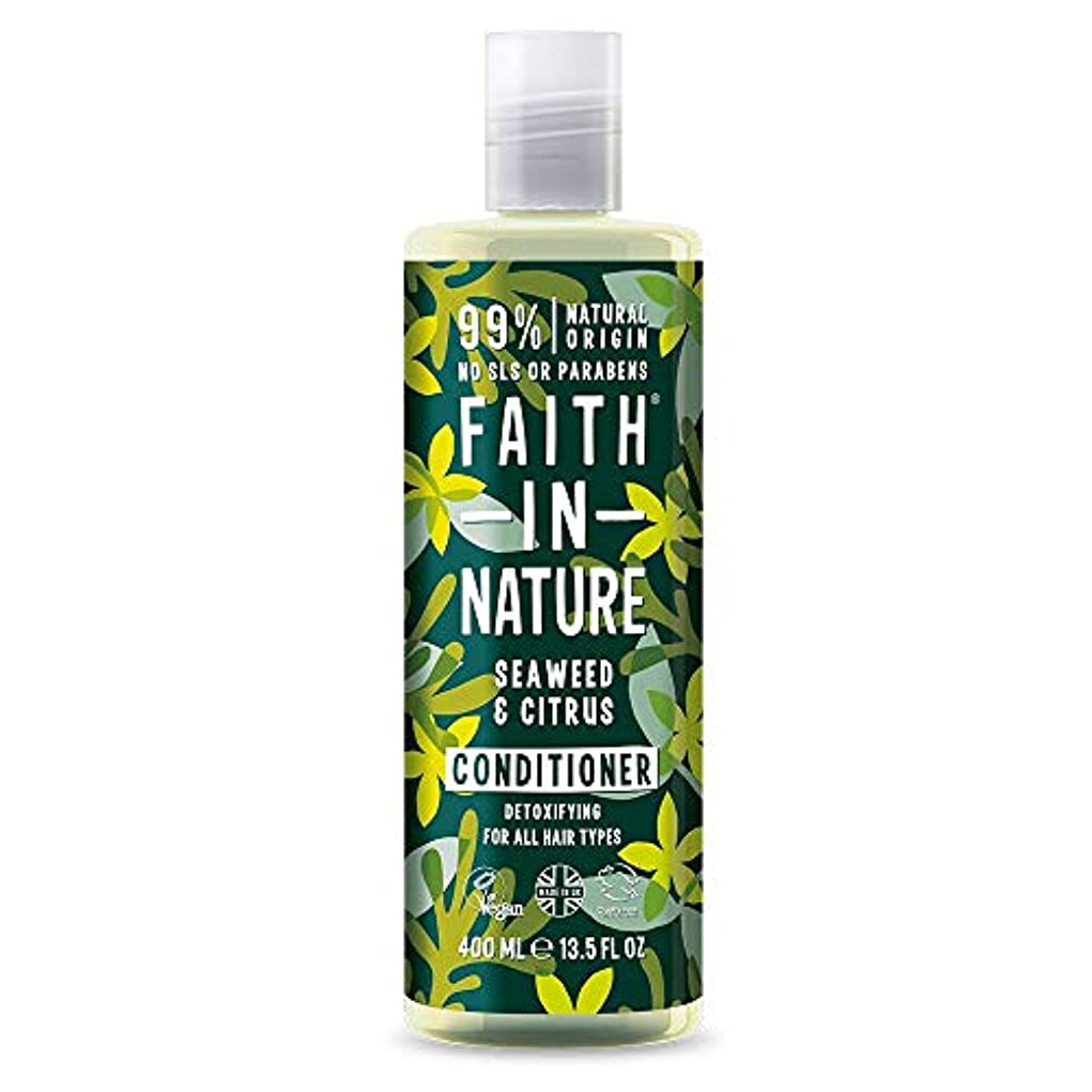 を除く医療のうぬぼれたFaith in Nature - Seaweed & Citrus Conditioner - 400ml