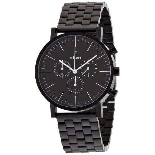 [エービーアート]a.b.art 腕時計 series OC OC-151 メタルブラック メンズ 【正規輸入品】