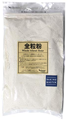 [Amazon限定ブランド] BAKING MASTER 徳用全粒粉 2kg