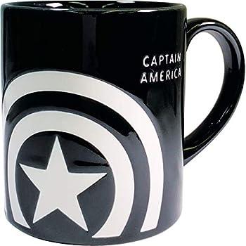 ティーズファクトリー キャプテン・アメリカ H9.2×Φ7.5cm マーベル 撥水 マグカップ MV-5524404CA