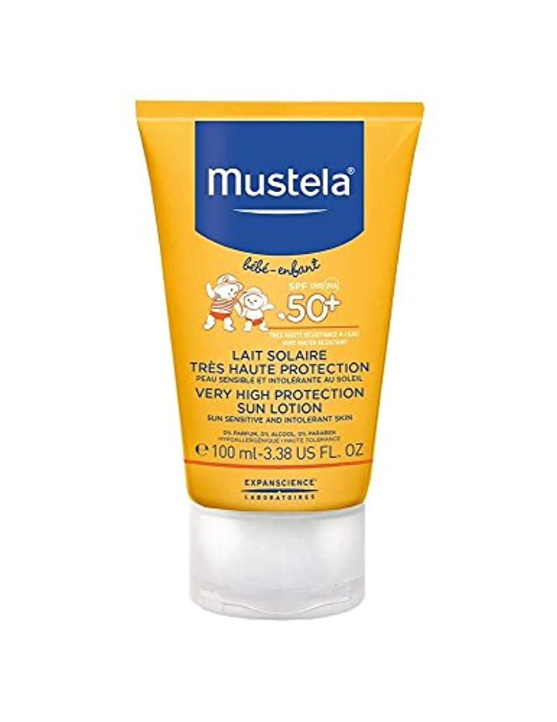 祭司遺体安置所組Mustela Sun Face Milk Spf50 + 40ml [並行輸入品]