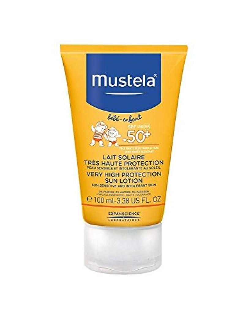 台風家族警察署Mustela Sun Face Milk Spf50 + 40ml [並行輸入品]