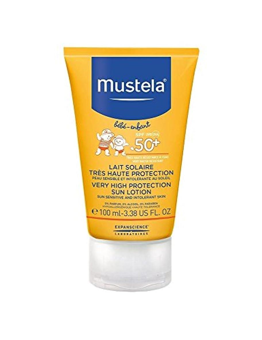 ダーベビルのテス重量土Mustela Sun Face Milk Spf50 + 40ml [並行輸入品]