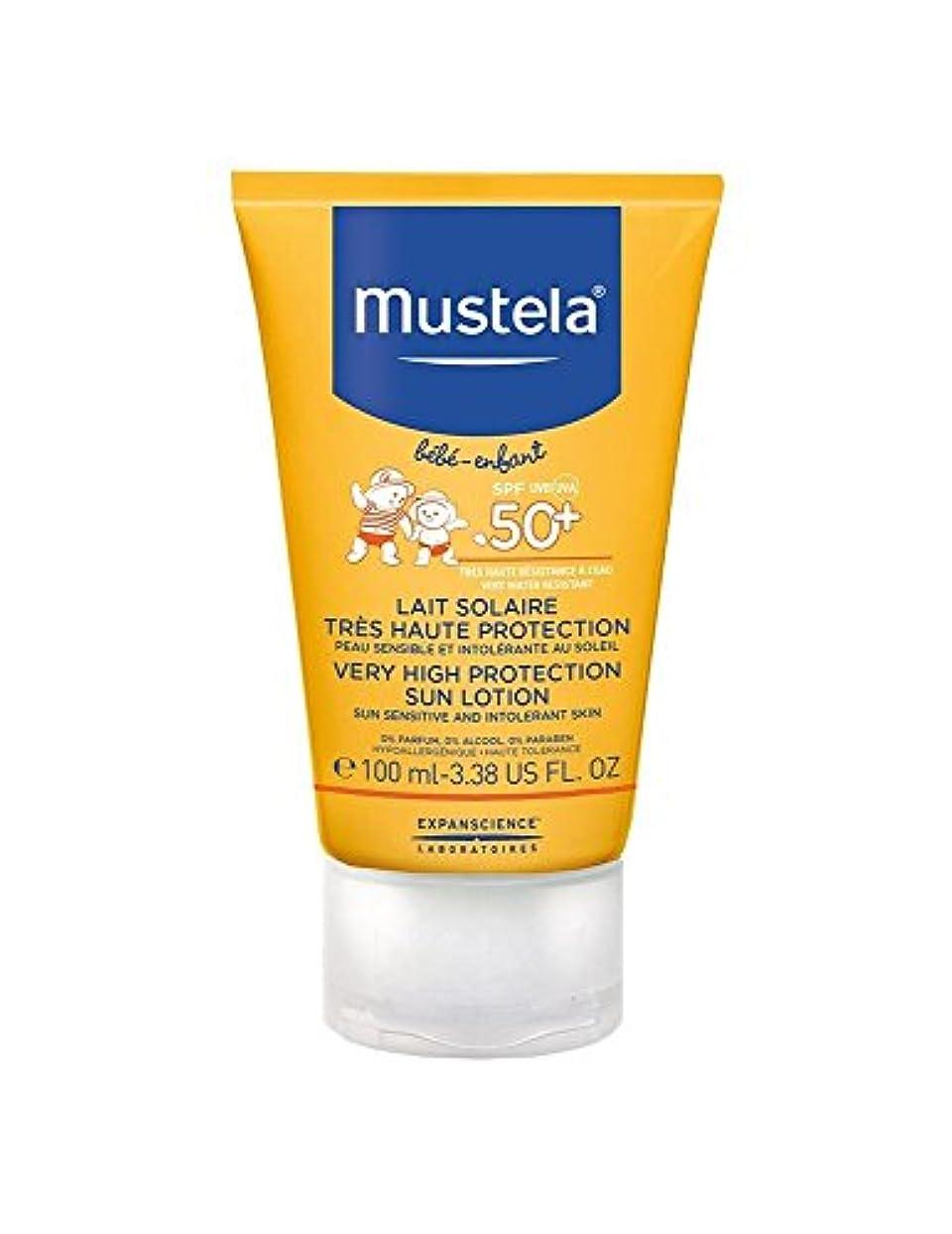 言語衝突するアルプスMustela Sun Face Milk Spf50 + 40ml [並行輸入品]