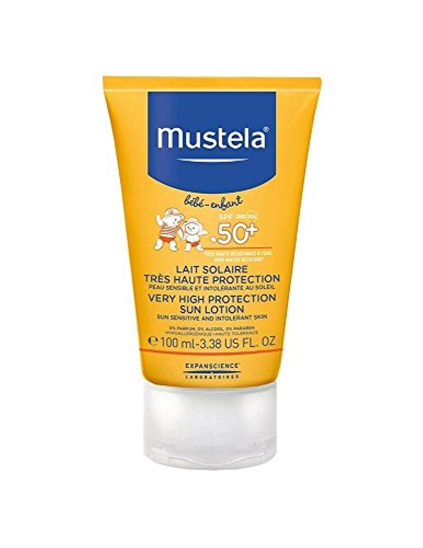 ハッチ欠乏話をするMustela Sun Face Milk Spf50 + 40ml [並行輸入品]