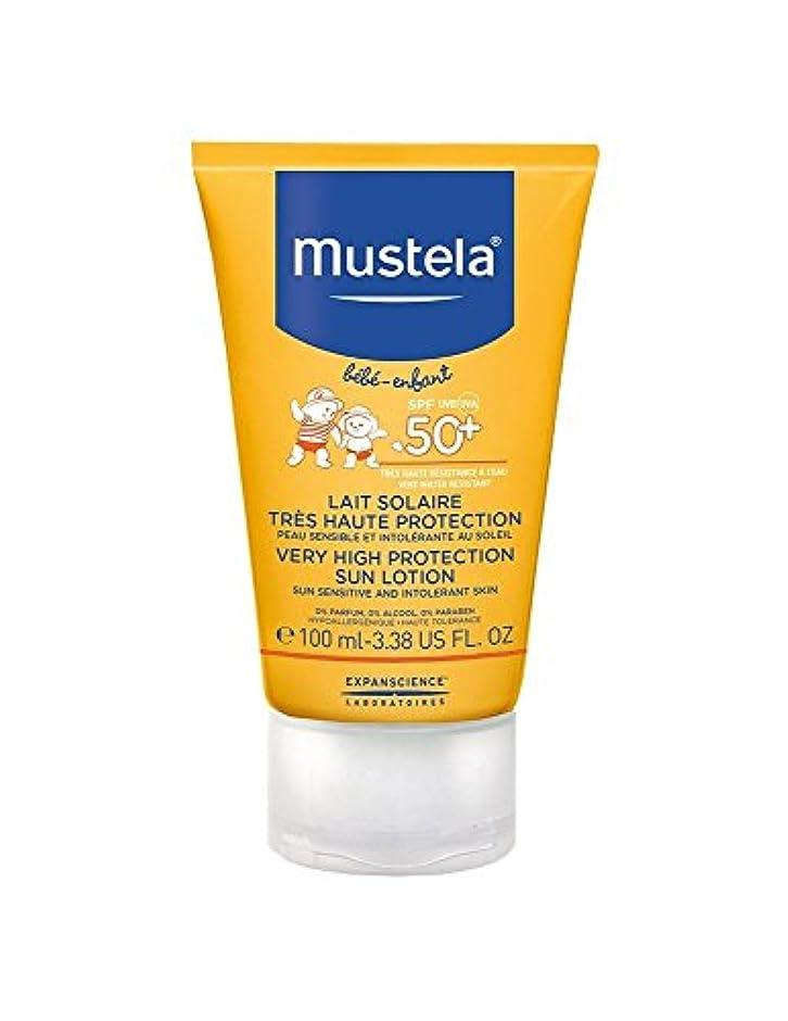 バナナ硬化する指定するMustela Sun Face Milk Spf50 + 40ml [並行輸入品]