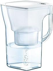 BRITA 碧然德 凈水器 水壺 凈水部分容量:1.3升(全容量:2.3升) Navelia 白色記憶 Mantstror Plus 附1個 【日本正品】