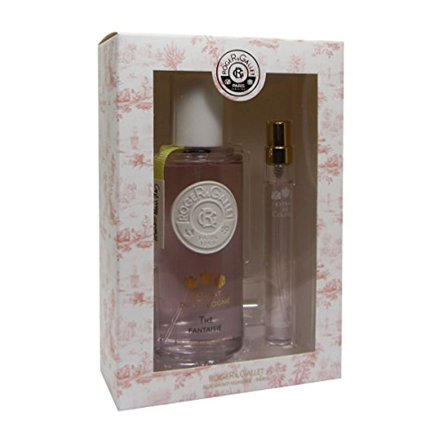 伝染性の姉妹堂々たるRoger Gallet The Fantaisie Cologne Extract 100ml + 10ml [並行輸入品]