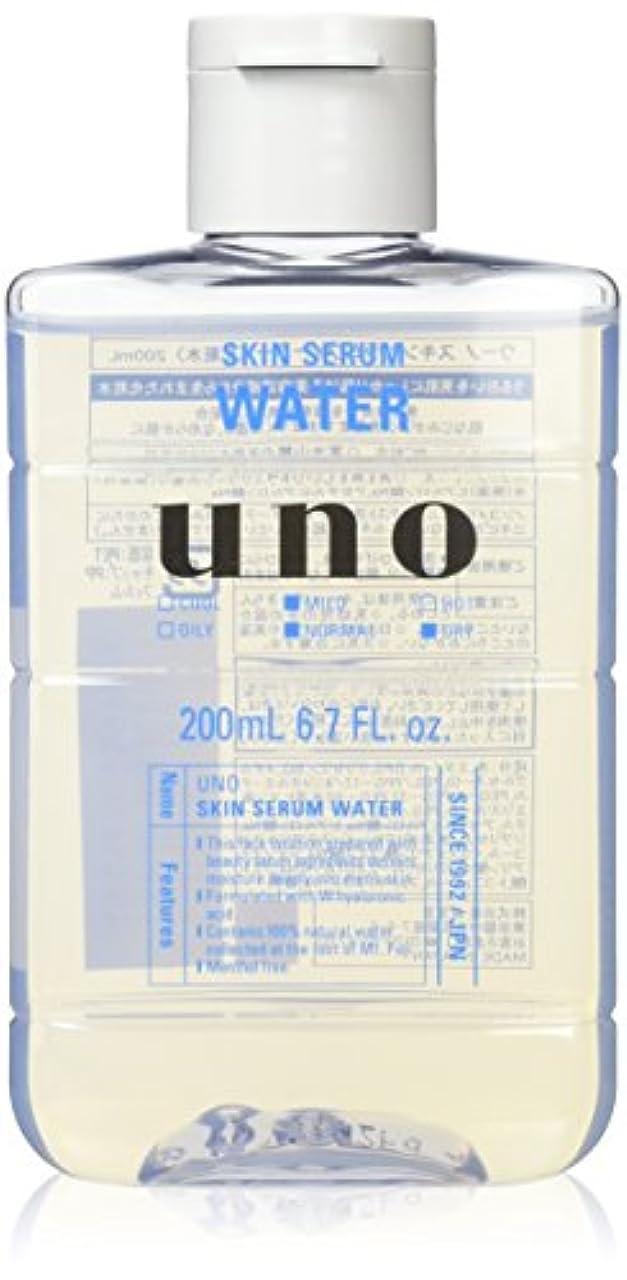 トレッド原子炉振る舞いウーノ スキンセラムウォーター 男性用化粧水 200ml