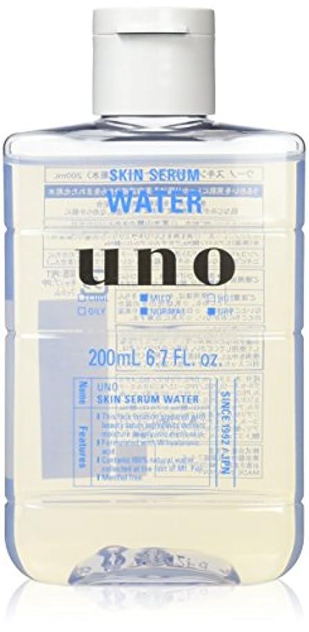 解読する悲惨宝石ウーノ スキンセラムウォーター 男性用化粧水 200ml