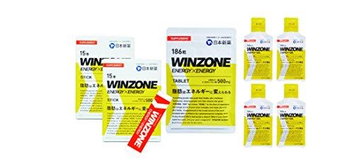 日本新薬/WINZONE 30kmの壁突破セット (超えろサブ3!1カ月セット)
